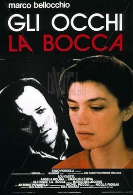 Los Ojos, la boca - Poster - Italie