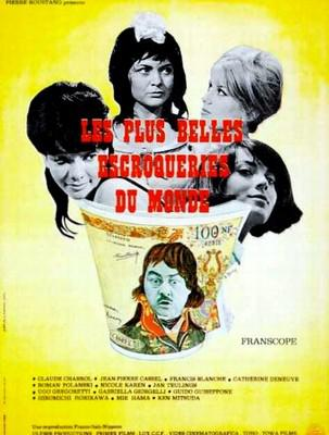 The World's Most Beautiful Swindlers - Poster France