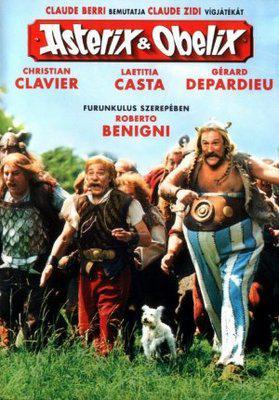 Asterix and Obelix versus Cesar - Poster Hongrie