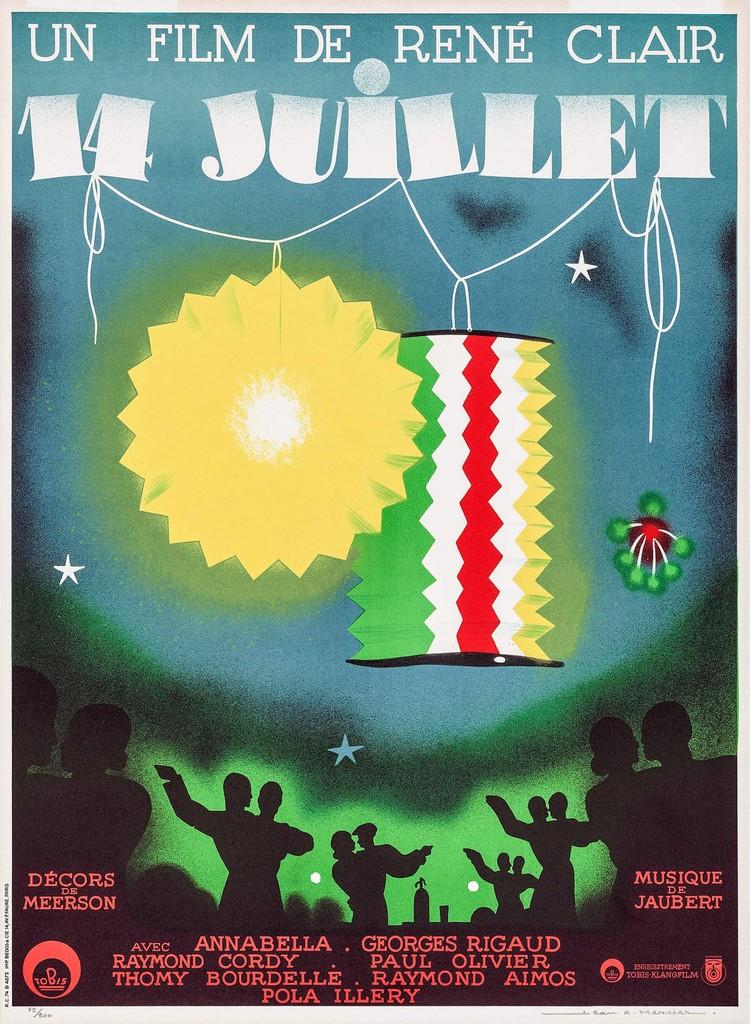 Quatorze Juillet - Poster France