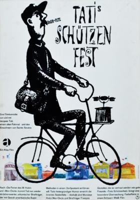 Jour de fête - Poster Allemagne