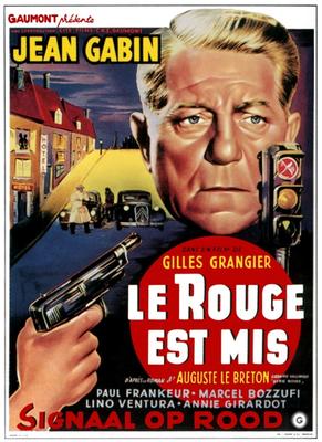Le Rouge est mis - Poster Belgique