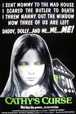 La Maldición de Cathy - Poster Etats-Unis