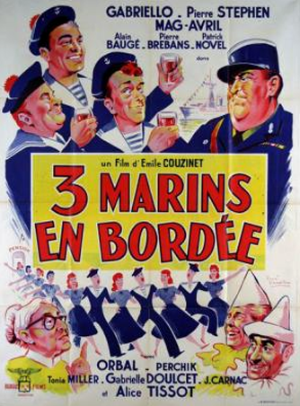 Trois marins en bordée