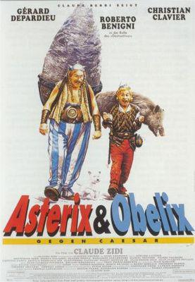 Asterix y Obelix contra Cesar - Poster Allemagne