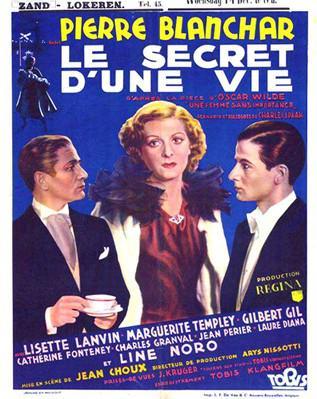 Une femme sans importance - Poster - Belgium
