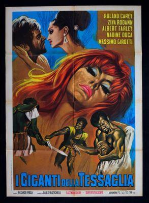 Los Gigantes de la Tessaglia - Poster - Italy