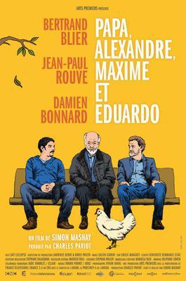 Papa, Alexandre, Maxime et Eduardo