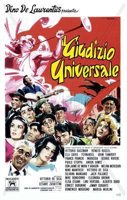 El Juicio universal - Poster - Italie