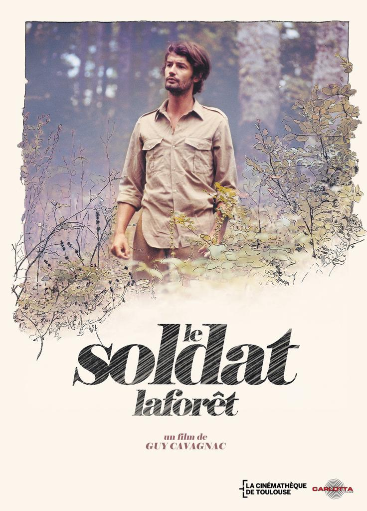 The Soldier Laforêt - Affiche réédition 2016