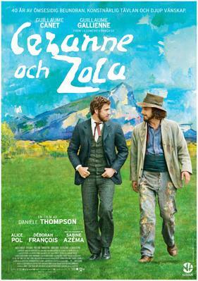 Cézanne et moi - Poster - Sweden