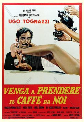 Come Have Coffee with Us - Poster - Italie