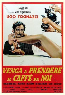 Venez donc prendre le café chez nous ! - Poster - Italie