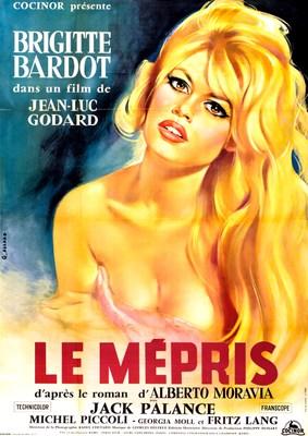 El desprecio - Poster France