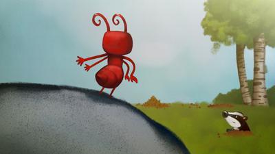 Un travail de fourmis