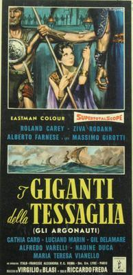 The Giants of Thessaly - Poster - Italy