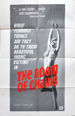 The Room of Chains - Poster Etats-Unis