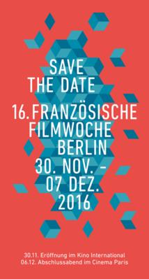 Semaine du film français de Berlin - 2016