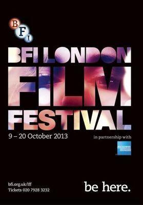 BFI London Film Festival - 2013