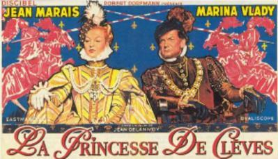 La Princesse de Clèves - Poster Belgique