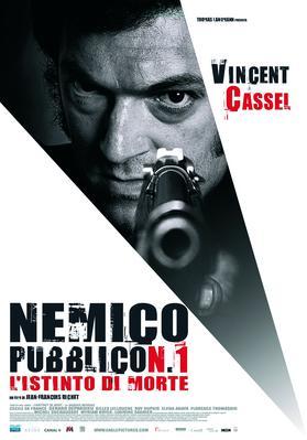Mesrine : L'ennemi public n°1 - Poster Italie