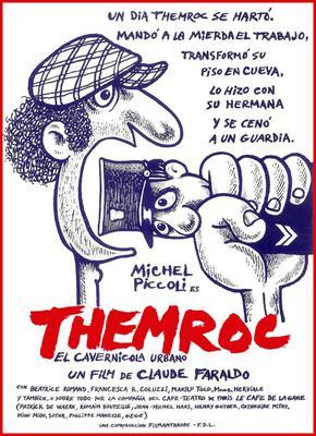 Themroc, el cavernícola urbano - Poster Espagne
