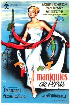 Mannequins of Paris - Poster _ Spain