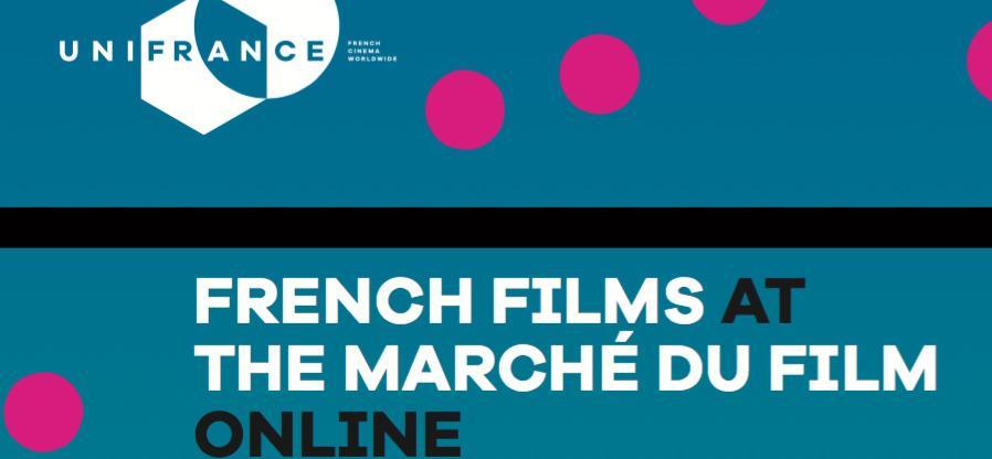 Le cinéma français au Marché du Film online de Cannes