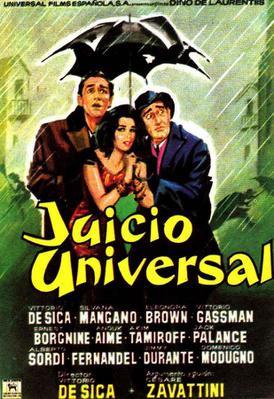 El Juicio universal - Poster - Espagne