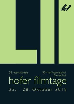 Festival international du film de Hof  - 2018
