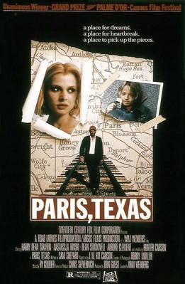 パリ、テキサス - Poster Etats-Unis