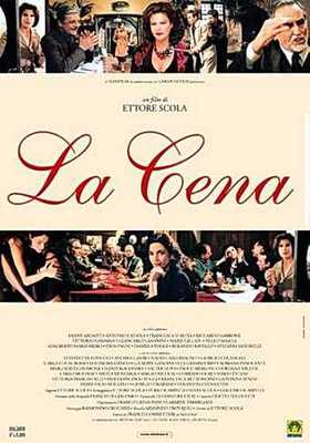 La Cena - Poster Italie