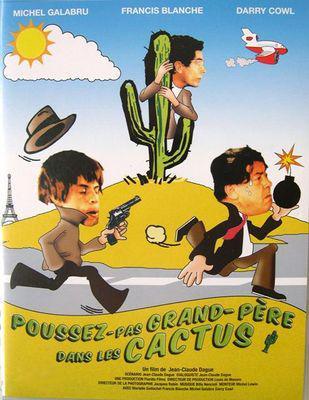 Poussez pas grand-père dans les cactus - © Jaquette Dvd