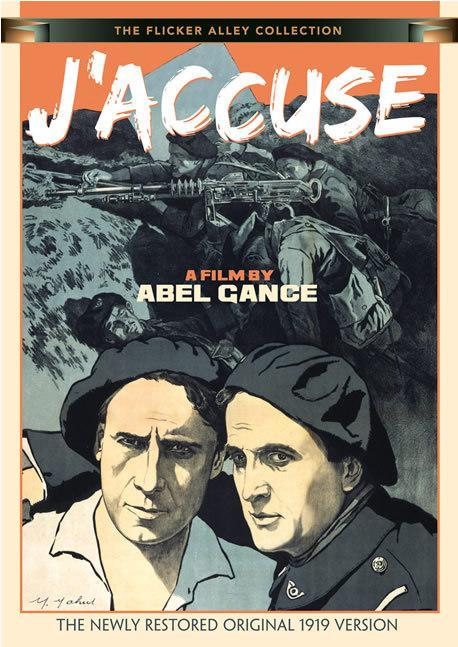 I Accuse! - Jaquette DVD Etats-Unis