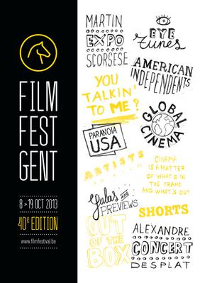 Festival Internacional de Cine de Gante  - 2013