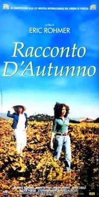 Cuento de otoño - Poster Italie