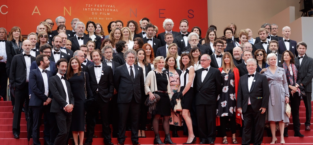On the red carpet at Cannes to celebrate 70 years of UniFrance