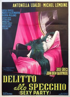 Death on the Fourposter - Poster Italie