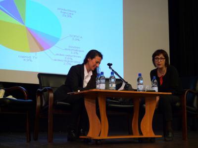 Master classes at VGIK in Moscow - Présentation du système français par S. Brauer