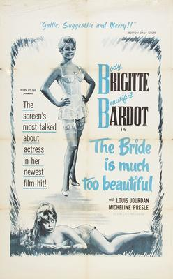 Please, Not Now! / The Bride Is Too Much Beautiful - Poster Etats-Unis
