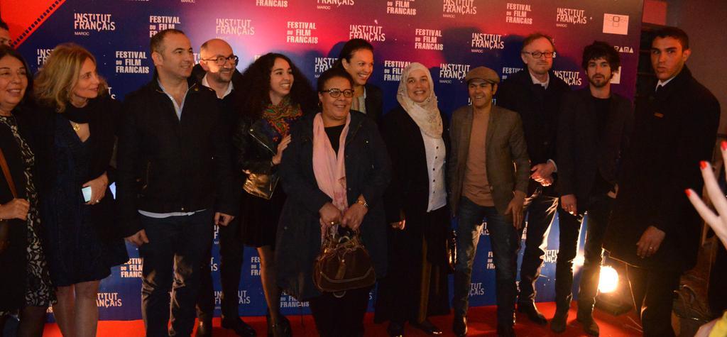 Magnífica apertura del 1er Festival de Cine Francés en Marruecos