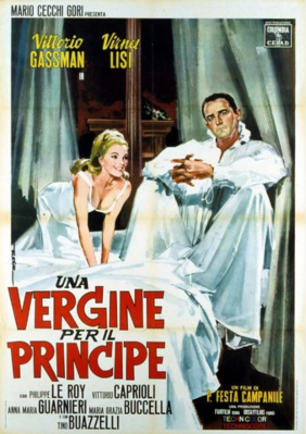 Une vierge pour le prince - Poster - Italie