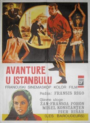 Jerk à Istambul - Poster Turquie