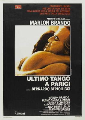 El último tango en París - Poster - Italie