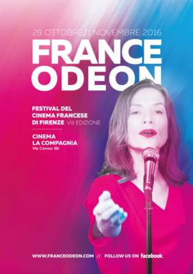 France Odéon, Festival de cinéma français - Florence - 2016
