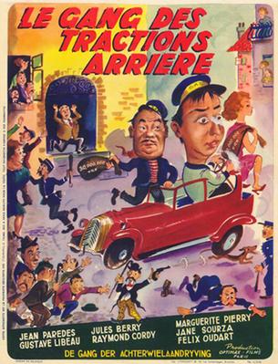 Le Gang des Tractions Arrière - © Poster Belgique