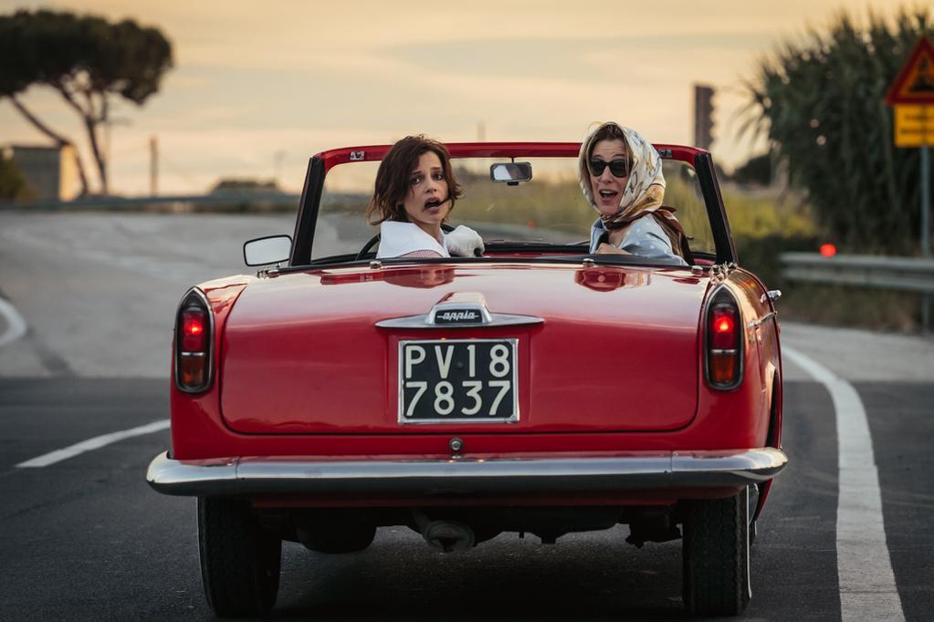 Folles de Joie (La Pazza Gioia) - Micaela Ramazzotti et Valeria Bruni Tedeschi