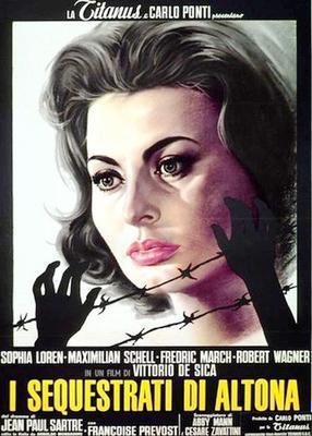 Les Séquestrés d'Altona - Poster - Italie