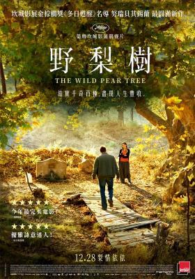 The Wild Pear Tree - poster-taiwan