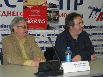 Russia: Jaco Van Dormael accompanies Mr. Nobody
